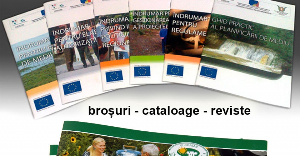 Brosuri - Cataloage - Reviste